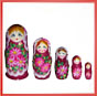 4 Nested dolls flower